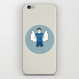 Guardian Angel Stevie iPhone Skin
