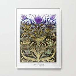 The Moors (Scottish Thistle) Metal Print