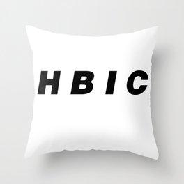 Unofficial Cheryl Blossom HBIC Merch Throw Pillow