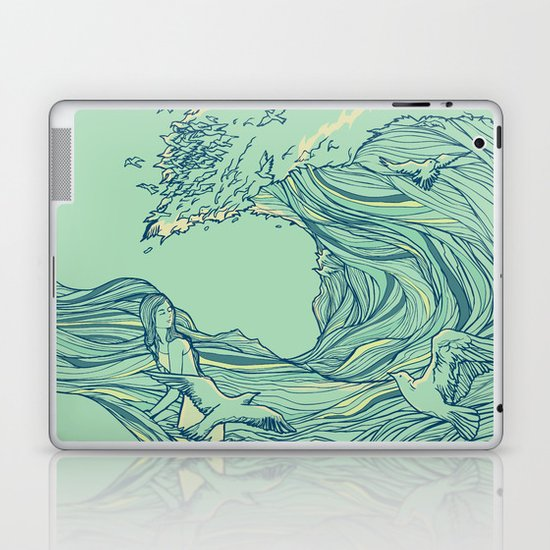 Ocean Breath Laptop & iPad Skin