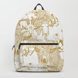 just goats gold Backpack