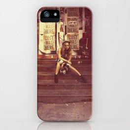 Mercer St NYC - Vintage iPhone Case