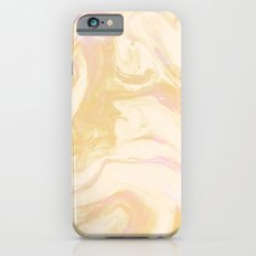 Gold Pink Marble iPhone 6s Slim Case
