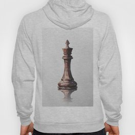 king low poly Hoody