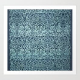 William Morris Printed Textile Brer Rabbit Art Print