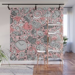 PLAYTIME_PINK Wall Mural