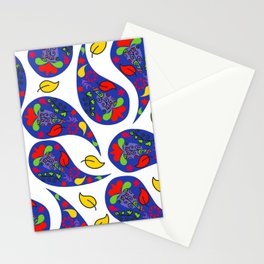 Paisley #4A Stationery Cards