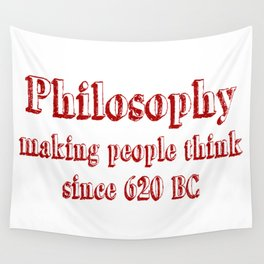 philosophy Wall Tapestry