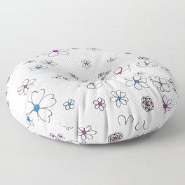 Pocket Full of Posies Floor Pillow