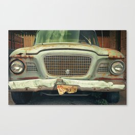 what a lark Canvas Print