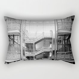 Bradbury Building, Downtown Los Angeles Rectangular Pillow