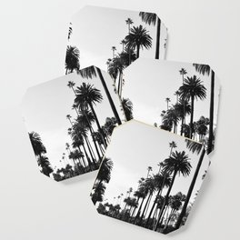 Los Angeles Black and White Coaster