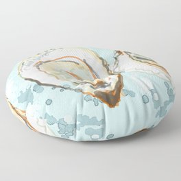 New York Oysters Floor Pillow