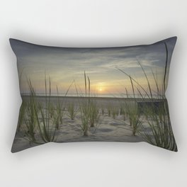 Sunrise Over the Dunes Rectangular Pillow