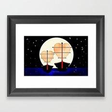 RELATIONSHIPS 012 Framed Art Print