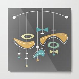 Swank Mid Century Modern Abstract Metal Print