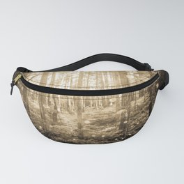 Vintage Sepia Fairy Forest Fanny Pack
