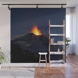 Volcano Wall Mural