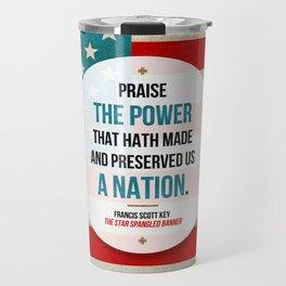 Preserved us a Nation Travel Mug
