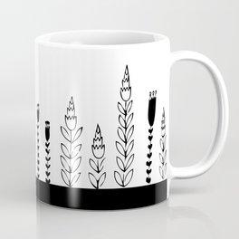black bar flowers Coffee Mug