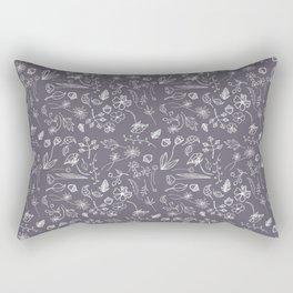 A Plethora (Purple Smoke) Rectangular Pillow