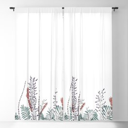 The Plant Series: No. 1 Blackout Curtain