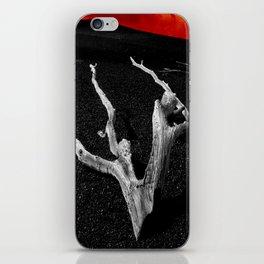 Lava Drift Wood iPhone Skin
