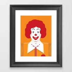 ronald Framed Art Print