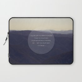 You're off to great places ... Laptop Sleeve