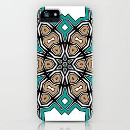 abstract maya mandala iPhone Case