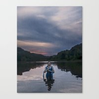 abyss Canvas Prints featuring Abyss by DanRWin