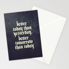 be better Stationery Cards