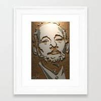 murray Framed Art Prints featuring Murray by Blake Byers
