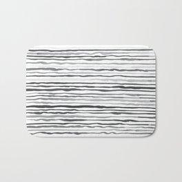 Waves Pattern Bath Mat