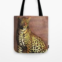 panther Tote Bags featuring Panther by Savousepate