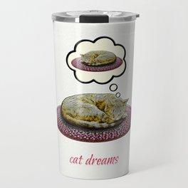 Cat Dreams Travel Mug