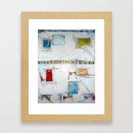"""""""Picket Fences"""" by Simon Brushfield Framed Art Print"""