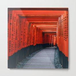 Japan Photography - Fushimi Inari Taisha Metal Print