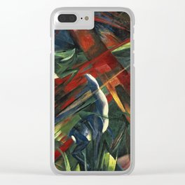 Franz Marc - Fate Of The Animals Clear iPhone Case