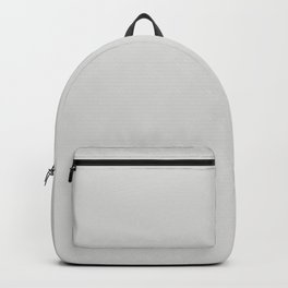 Light Gray Trending Solid Color Dutch Boy 2021 Color of the Year Accent Hue Shade Vapor 438-1DB Backpack
