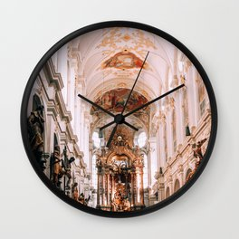 St. Peters Church Munich Wall Clock