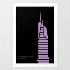 New York Skyline: Bank of America Tower Art Print
