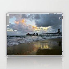 HB Sunsets  5/7/15   Huntington Beach, CA Laptop & iPad Skin