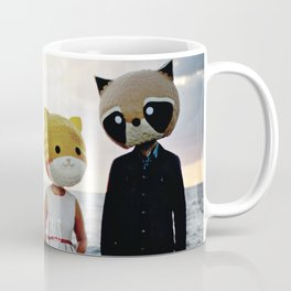 Dapper Animals Sunset Faces Coffee Mug