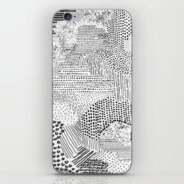 Brush Strokes iPhone Skin