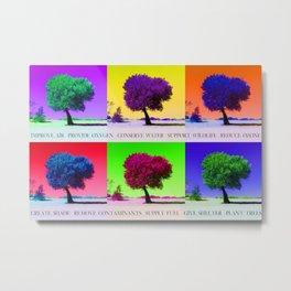 Plant Trees Metal Print