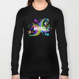 Pixel Splatoon Long Sleeve T-shirt