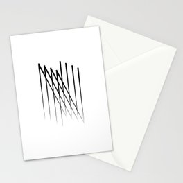 """"""" Eclipse Collection"""" - Minimal Letter N Print Stationery Cards"""