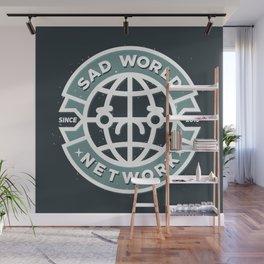 SAD WORLD NEWS NETWORK Wall Mural