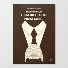 No432 My The Naked Gun minimal movie poster Canvas Print